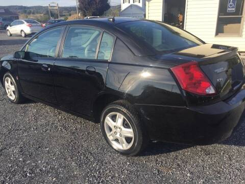 2007 Saturn Ion for sale at CESSNA MOTORS INC in Bedford PA