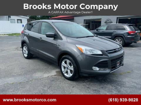 2014 Ford Escape for sale at Brooks Motor Company in Columbia IL