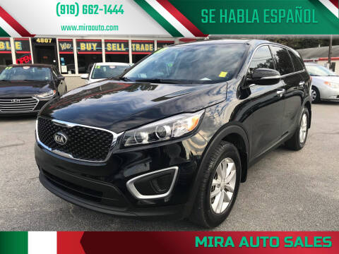 2017 Kia Sorento for sale at Mira Auto Sales in Raleigh NC
