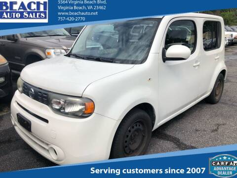 2013 Nissan cube for sale at Beach Auto Sales in Virginia Beach VA