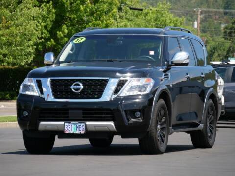 2017 Nissan Armada for sale at CLINT NEWELL USED CARS in Roseburg OR