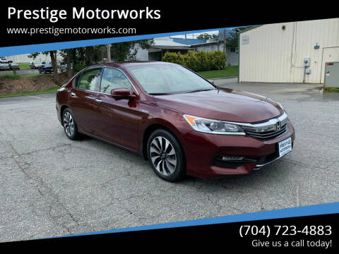 2017 Honda Accord Hybrid for sale at Prestige Motorworks in Concord NC