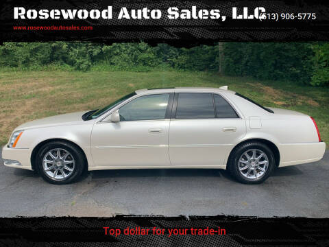 2011 Cadillac DTS for sale at Rosewood Auto Sales, LLC in Hamilton OH