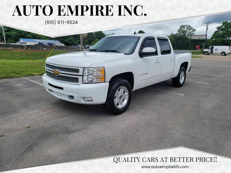 2012 Chevrolet Silverado 1500 for sale at Auto Empire Inc. in Murfreesboro TN
