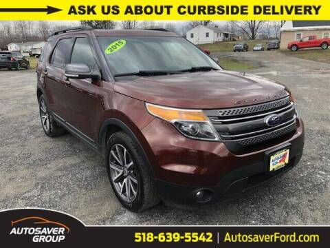 2015 Ford Explorer for sale at Autosaver Ford in Comstock NY