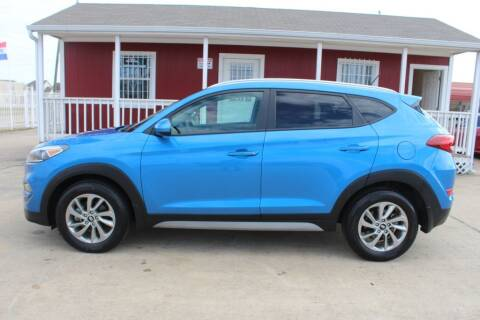 2017 Hyundai Tucson for sale at AMT AUTO SALES LLC in Houston TX