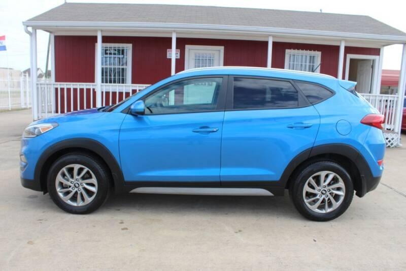 2017 Hyundai Tucson for sale at AMT AUTO SALES LLC in Houston TX