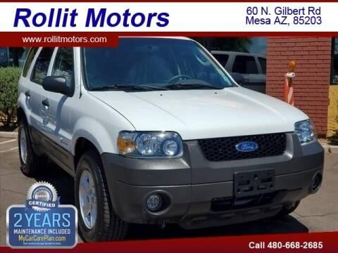 2006 Ford Escape Hybrid for sale at Rollit Motors in Mesa AZ
