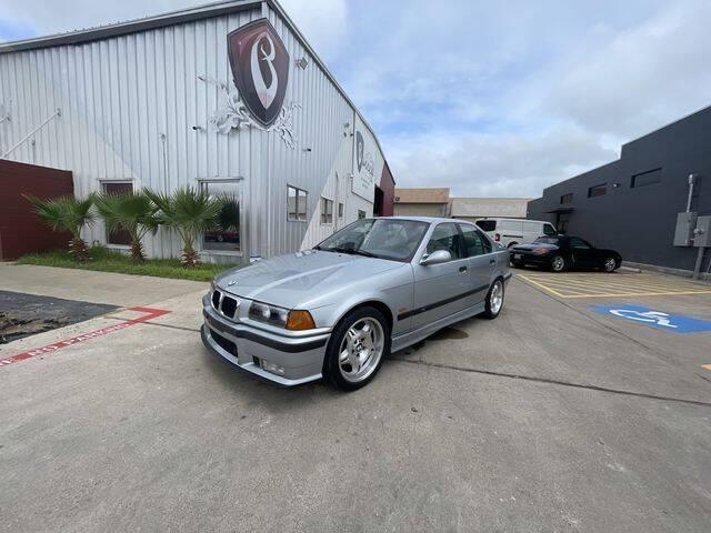 1998 BMW M3 for sale at Barrett Auto Gallery in San Juan TX