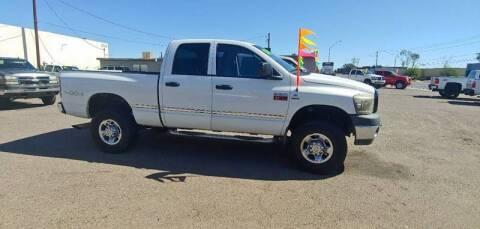 2008 Dodge Ram Pickup 2500 for sale at Advantage Motorsports Plus in Phoenix AZ