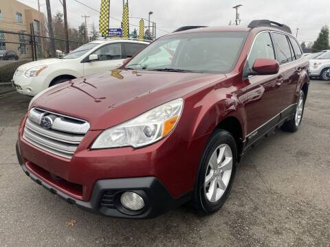 2014 Subaru Outback for sale at Salem Motorsports in Salem OR