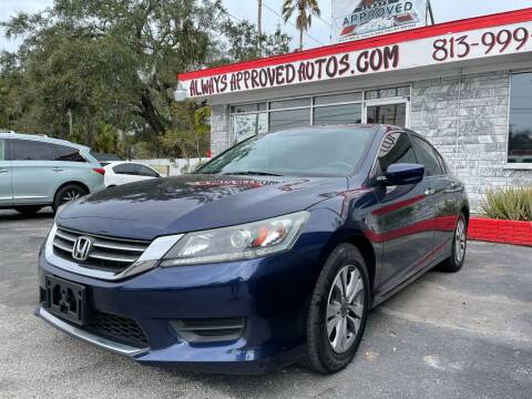 2014 Honda Accord for sale at Always Approved Autos in Tampa FL
