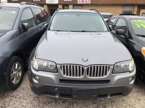 2009 BMW X3 for sale at NORTH CHICAGO MOTORS INC in North Chicago IL