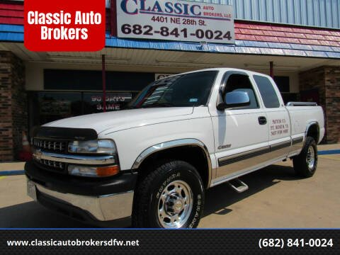 1999 Chevrolet Silverado 2500 for sale at Classic Auto Brokers in Haltom City TX