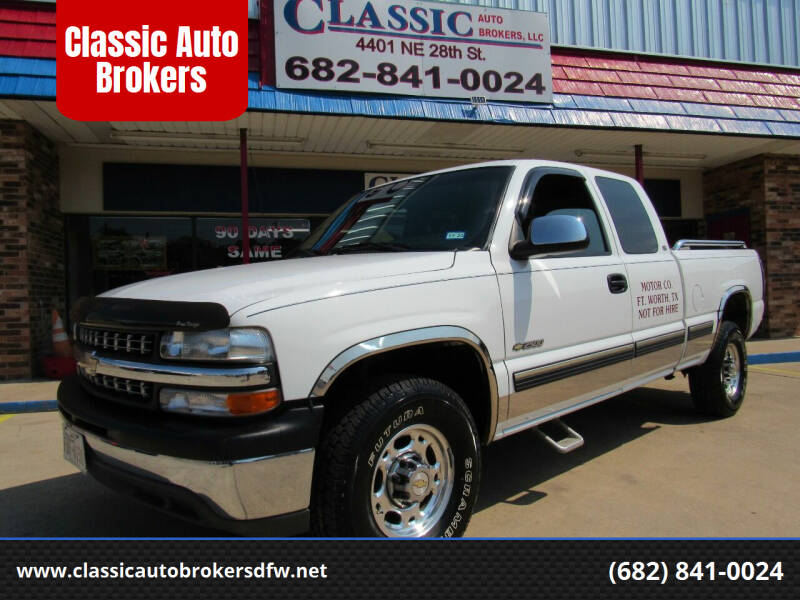 1999 Chevrolet Silverado 2500 for sale at Classic Auto Brokers in Haltom City TX