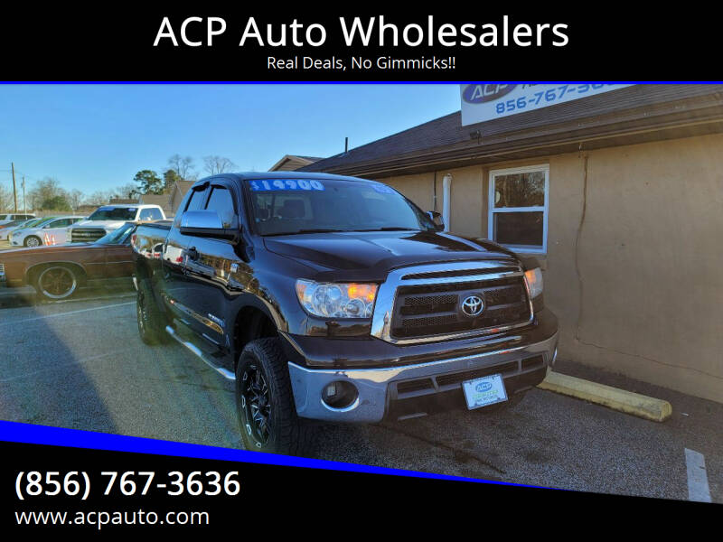 2010 Toyota Tundra for sale at ACP Auto Wholesalers in Berlin NJ