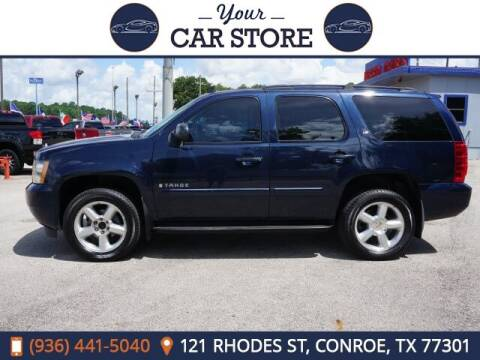 2007 Chevrolet Tahoe for sale at Your Car Store in Conroe TX