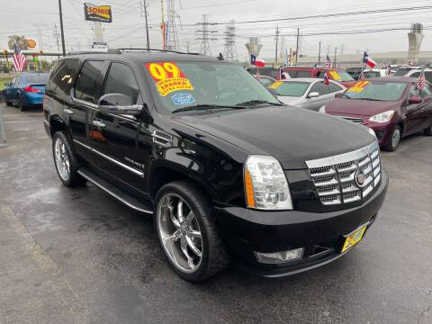 2009 Cadillac Escalade for sale at Texas 1 Auto Finance in Kemah TX