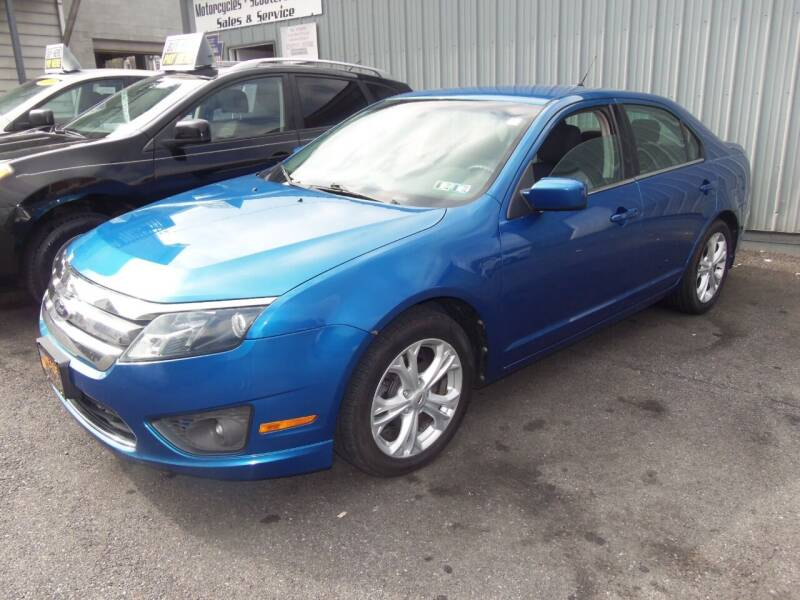 2012 Ford Fusion for sale at Fulmer Auto Cycle Sales - Fulmer Auto Sales in Easton PA