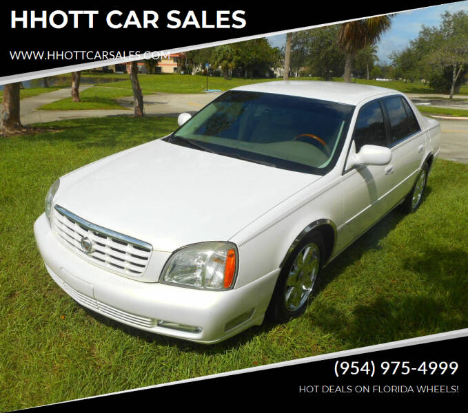 2005 Cadillac DeVille for sale at HHOTT CAR SALES in Deerfield Beach FL