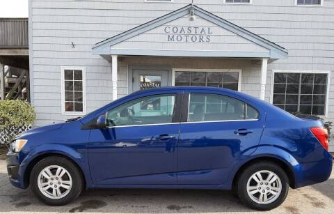 2014 Chevrolet Sonic for sale at Coastal Motors in Buzzards Bay MA