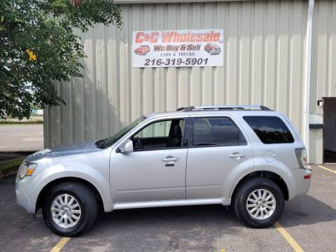 2011 Mercury Mariner for sale at C & C Wholesale in Cleveland OH