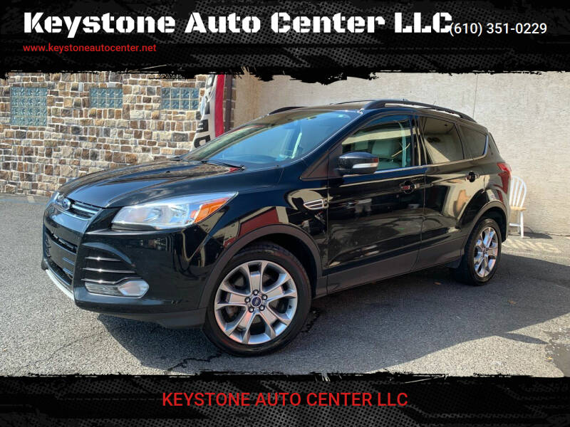 2013 Ford Escape for sale at Keystone Auto Center LLC in Allentown PA
