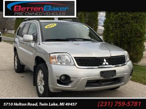 2011 Mitsubishi Endeavor for sale at Betten Baker Preowned Center in Twin Lake MI