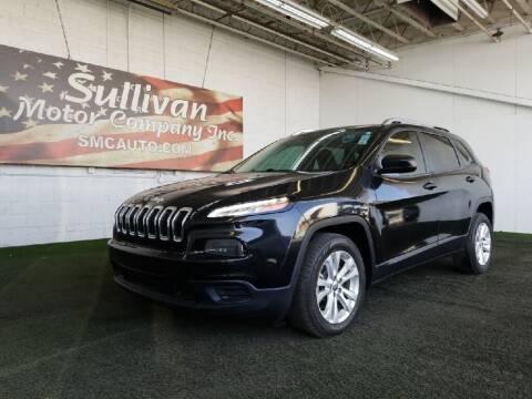 2015 Jeep Cherokee for sale at SULLIVAN MOTOR COMPANY INC. in Mesa AZ