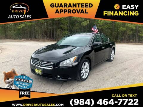 2012 Nissan Maxima for sale at Drive 1 Auto Sales in Wake Forest NC