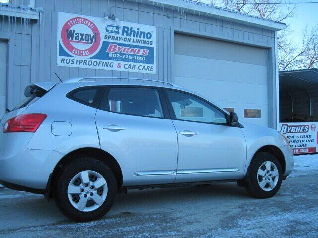 2015 Nissan Rogue Select for sale at BYRNES RUST PROOFING CENTER AND AUTO SALES in North Clarendon VT