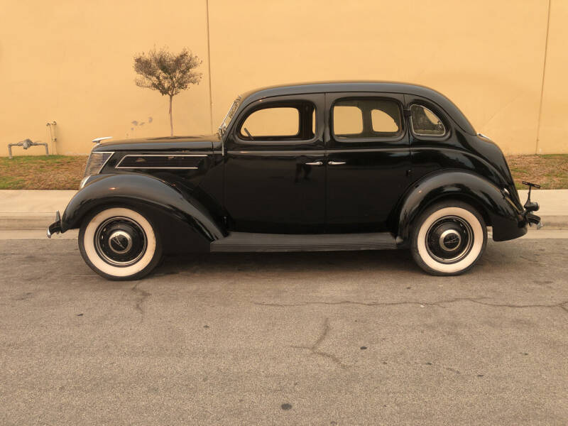 1937 Ford 4 Door Sedan for sale at HIGH-LINE MOTOR SPORTS in Brea CA