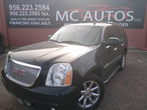 2009 GMC Yukon for sale at MC Autos LLC in Pharr TX