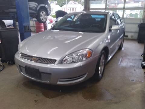 2013 Chevrolet Impala for sale at Cammisa's Garage Inc in Shelton CT