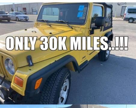 2006 Jeep Wrangler for sale at WENTZVILLE MOTORS in Wentzville MO