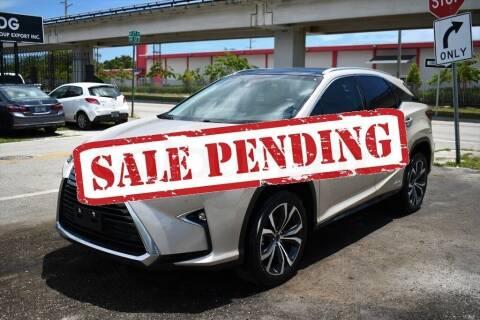 2018 Lexus RX 450h for sale at STS Automotive - Miami, FL in Miami FL