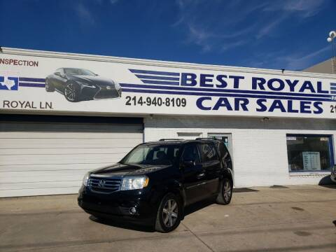 2012 Honda Pilot for sale at Best Royal Car Sales in Dallas TX
