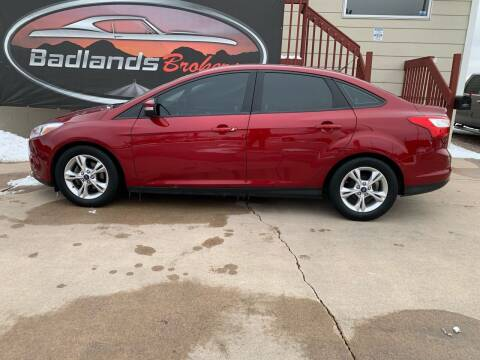 2014 Ford Focus for sale at Badlands Brokers in Rapid City SD