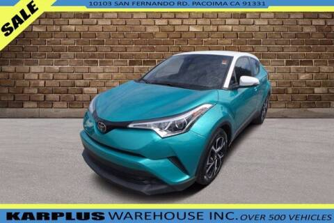 2018 Toyota C-HR for sale at Karplus Warehouse in Pacoima CA