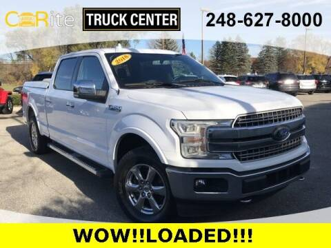 2018 Ford F-150 for sale at Jamie Sells Cars 810 in Ortonville MI