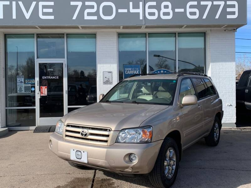 2007 Toyota Highlander for sale at Shift Automotive in Denver CO