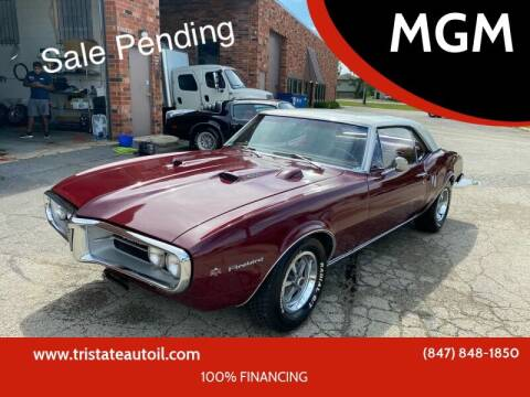 1967 Pontiac Firebird for sale at MGM CLASSIC CARS in Addison IL