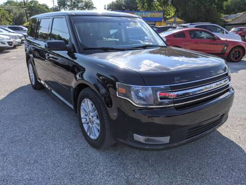 2014 Ford Flex for sale at PREMIER MOTORS OF PEARLAND in Pearland TX