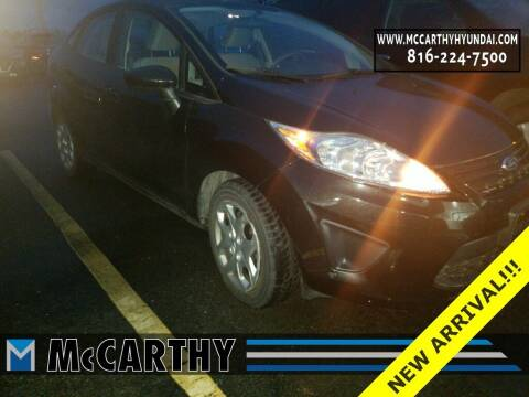 2013 Ford Fiesta for sale at Mr. KC Cars - McCarthy Hyundai in Blue Springs MO