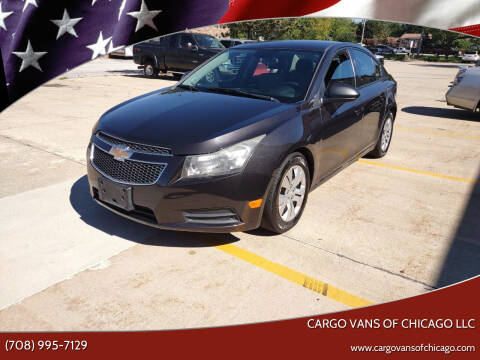 2014 Chevrolet Cruze for sale at Cargo Vans of Chicago LLC in Mokena IL