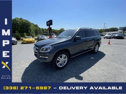2014 Mercedes-Benz GL-Class for sale at Impex Auto Sales in Greensboro NC
