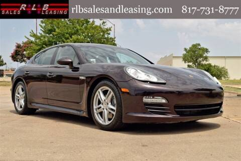 2011 Porsche Panamera for sale at RLB Sales and Leasing in Fort Worth TX