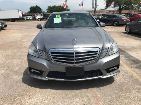 2011 Mercedes-Benz E-Class for sale at SOUTHWAY MOTORS in Houston TX