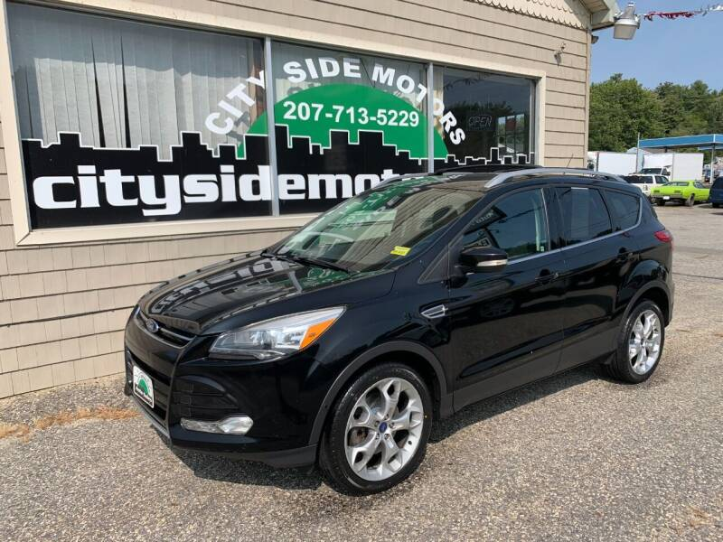 2016 Ford Escape for sale at CITY SIDE MOTORS in Auburn ME