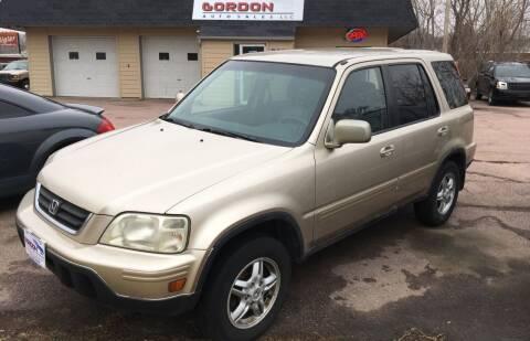 2001 Honda CR-V for sale at Gordon Auto Sales LLC in Sioux City IA